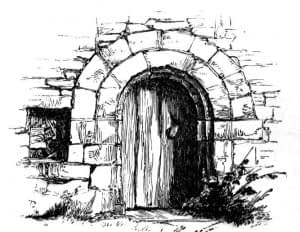 Entrance to the dungeon
